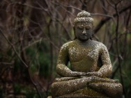 Buddha statue Skylands Manor Ringwood, NJ