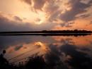 fishing for carp oradell reservoir oradell nj at sunset